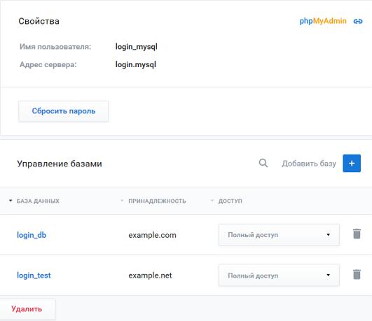 Mysql хостинг базы данных mysql бесплатный web хостинг без рекламы